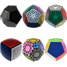 Group Special - set of 6 Large Cubes -
