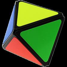 Pyraminx Diamond 2x2x2 - Black Body (mod) -