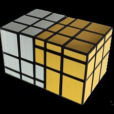 Siamese Mirror Cube - Gold and Silver Label -