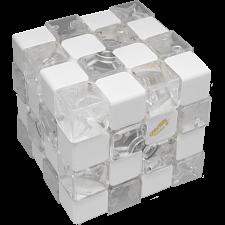 Fabio Touch 4x4x4 Cube I - Clear & White Body -