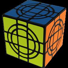 Double Crazy Cube - Black Body -