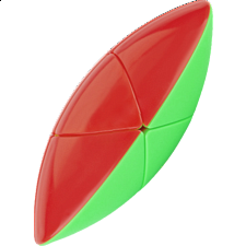 FlyMouse Shaped 2x2x2 - Red & Green Body -