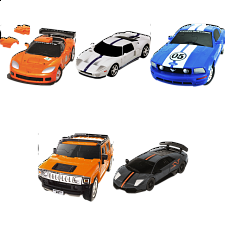 Group Special - Set of 5  3D Puzzle Cars -