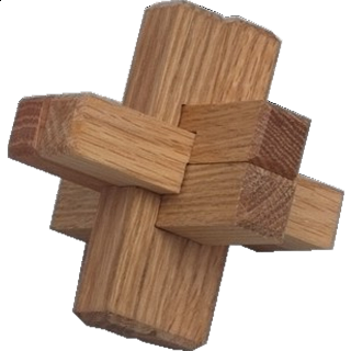 Puzzle Solution for Triple Cross