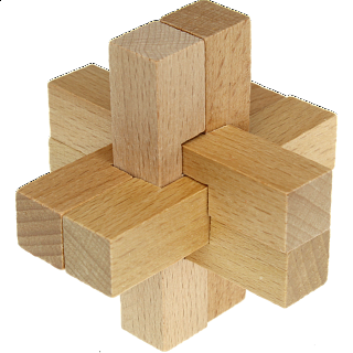 Puzzle Solution for Enigma - Wood Puzzle