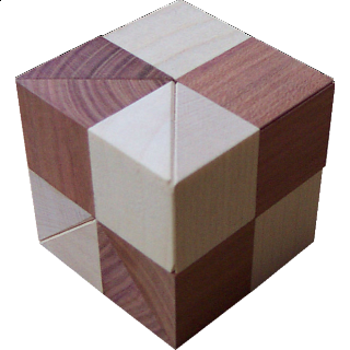 Puzzle Solution for Cube Vinco