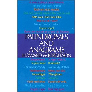 Palindromes and Anagrams - Book
