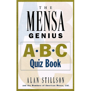 The Mensa Genius ABC Quiz Book