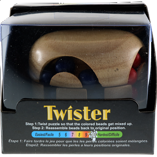 Twister - Brain Teaser - Wood Puzzle