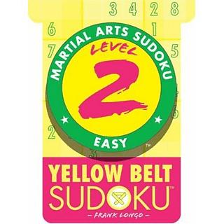Yellow Belt Sudoku Level 2 - Book