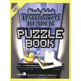 Uncle John's Bathroom Reader Puzzle Book #3 - Book