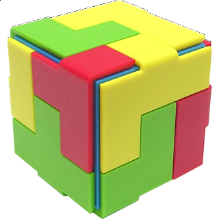 Puzzle Solution for Idea Cube