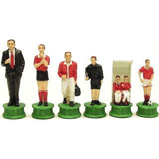 Soccer Theme Chessmen