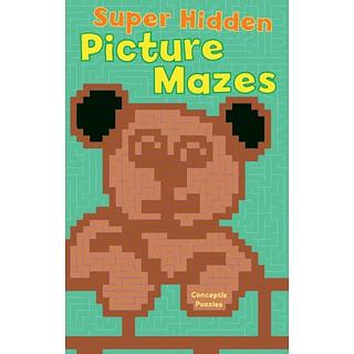 Super Hidden Picture Mazes - Book