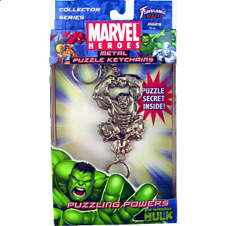 Marvel Heroes - Metal Puzzle Keychains - The Incredible Hulk