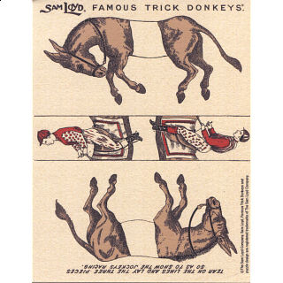 Famous Trick Donkeys - Small