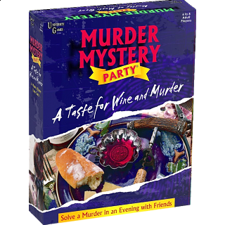 Murder Mystery - A Taste for Wine and Murder