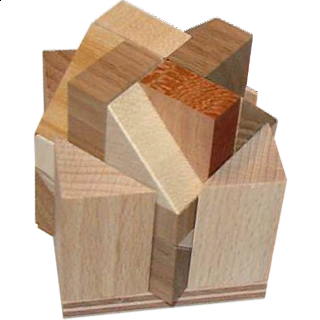 Puzzle Solution for Three Wedges