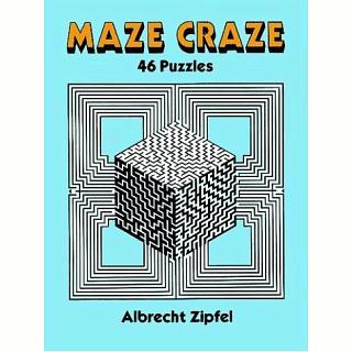 Maze Craze: 46 Puzzles - book