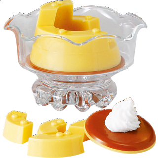 Glass Puzzle - Pudding