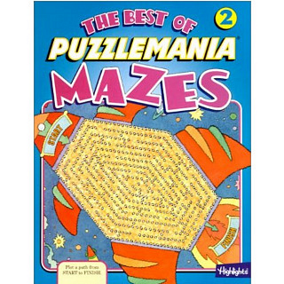 The Best of Puzzlemania Mazes Volume 2 - book