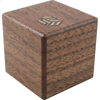 Puzzle Solution for Karakuri Small Box #1 Walnut