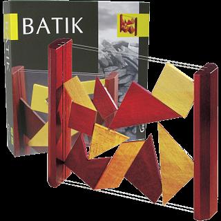 Puzzle Solution for Batik