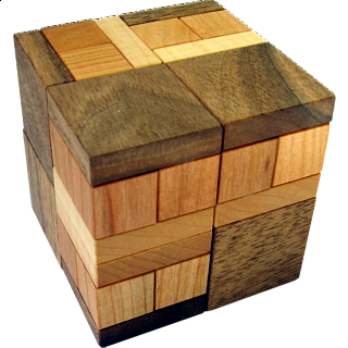 Puzzle Solution for Prism Halfcubes