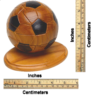 Soccer - 3D Wooden Jigsaw Puzzle