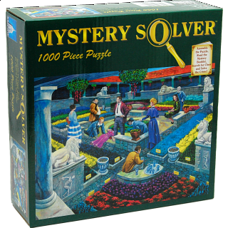 Mystery Solver - Murder at the Museum