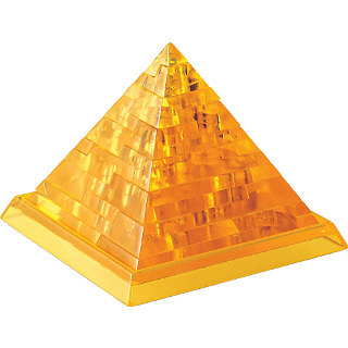Puzzle Solution for Pyramid - 3D Jigsaw Puzzle - Clearly Puzzled