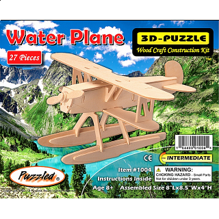 Water Plane - 3D Wooden Puzzle