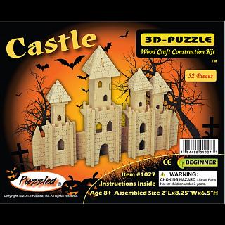 Castle - 3D Wooden Puzzle