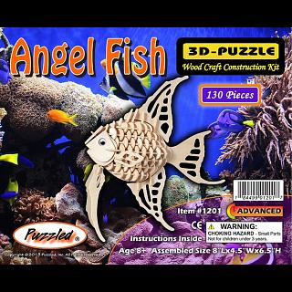 Angel Fish - 3D Wooden Puzzle