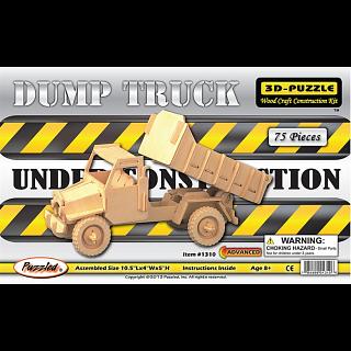 Dump Truck - 3D Wooden Puzzle