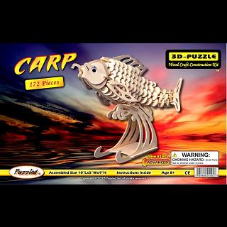 Carp - 3D Wooden Puzzle