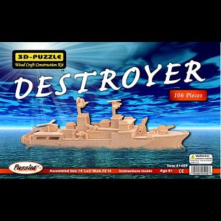 Destroyer - 3D Wooden Puzzle