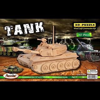 Tank - 3D Wooden Puzzle
