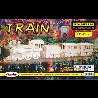 Train - 3D Wooden Puzzle