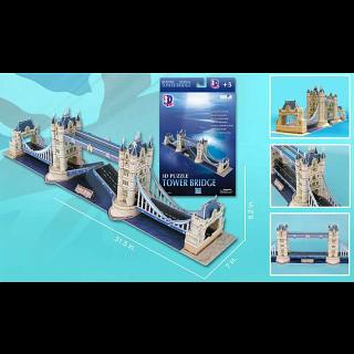 London Tower Bridge - 3D Jigsaw Puzzles