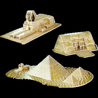 Egypt Relique - 3D Jigsaw Puzzle