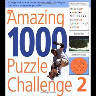 The Amazing 1000 Puzzle Challenge 2 - book