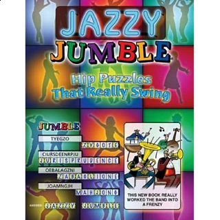 Jazzy Jumble - book