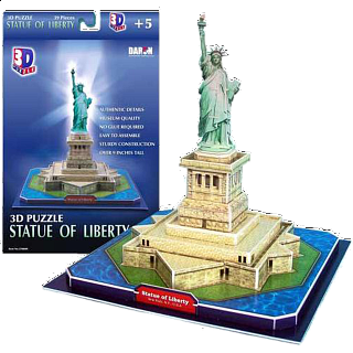 Statue of Liberty - 3D Jigsaw Puzzle