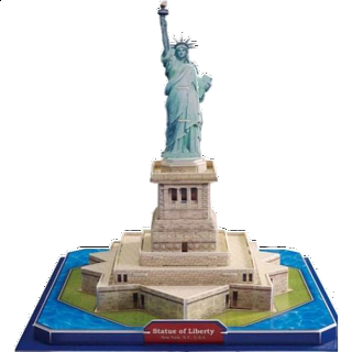 Statue of Liberty - 3D Puzzle