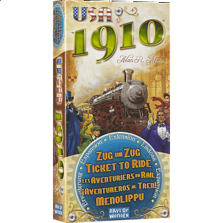 Ticket to Ride: USA 1910 (Expansion)