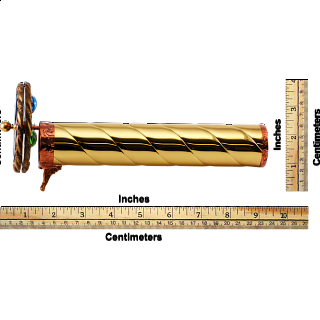 Kaleidoscope: Medium Brass - Rope
