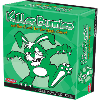 Killer Bunnies Quest - Green Booster Deck