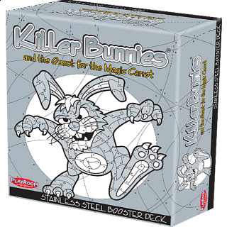 Killer Bunnies Quest - Stainless Steel Booster Deck
