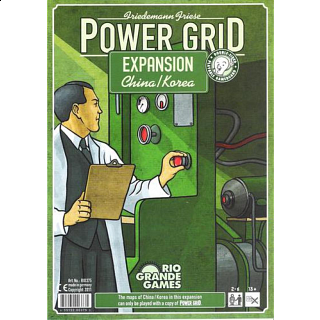Power Grid Expansion China, Korea Game Boards